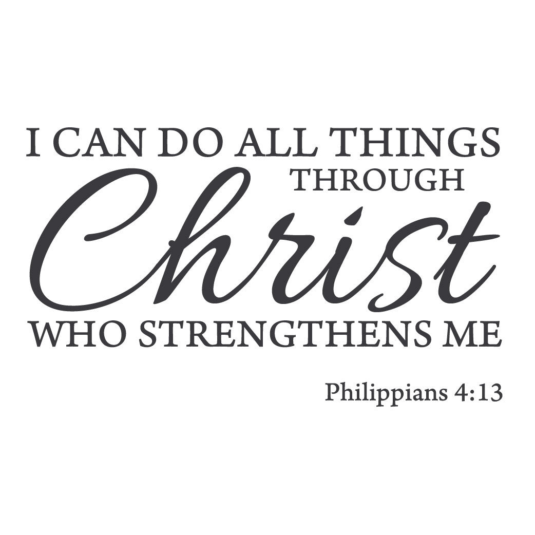 Jordan Wall Sticker Download I Can Do All Things Through Christ Wallpaper Gallery