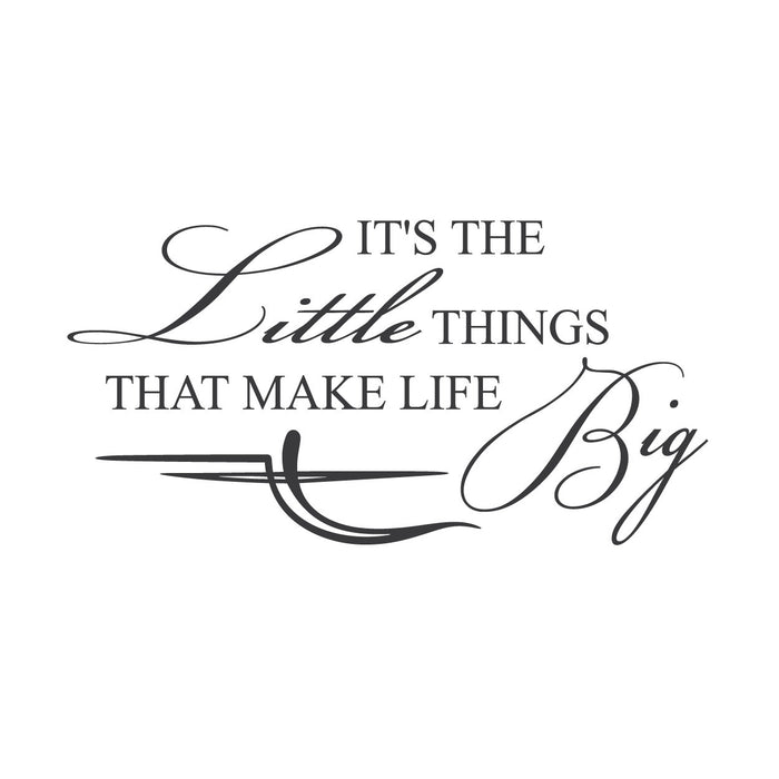 wall quotes wall decals - Big Life