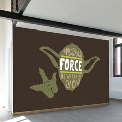 May the Force Wall Mural