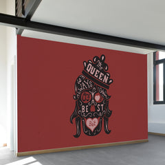 The Queen of Hearts Wall Mural