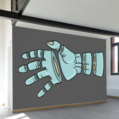 Severed Hand Wall Mural