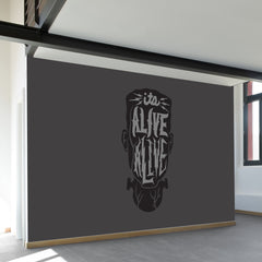Alive Alive Wall Mural