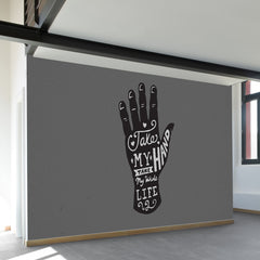 Take my Hand Wall Mural