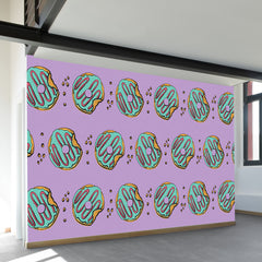 Donut Shop Wall Mural