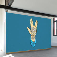 Live Long Wall Mural