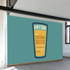Drink Beer Wall Mural