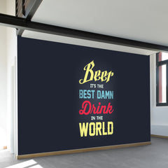 Best Damn Drink Wall Mural