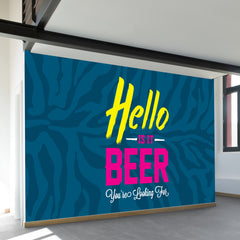 Hello is it Beer Wall Mural