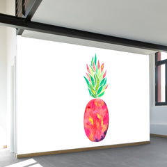Pineapple Flare Wall Mural