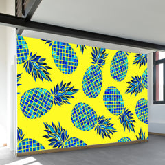 Pineapple Lush Wall Mural