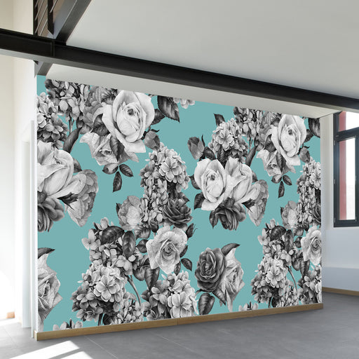 Mary Wall Mural by Walls Need Loveᄄ