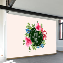 Pour Vous Wall Mural