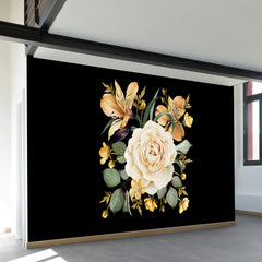 Evening Rose Wall Mural