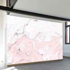Pink Marble Wall Mural