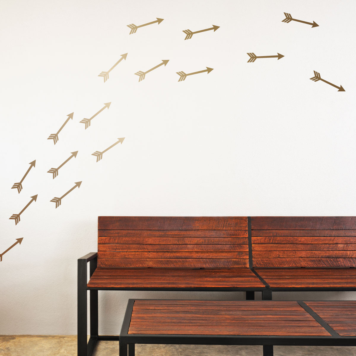 Flying Arrows Mini-Pack Wall Decals | lifestyle