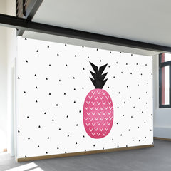 Pink Pineapple Wall Mural