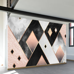 Art Deco Diamonds Wall Mural