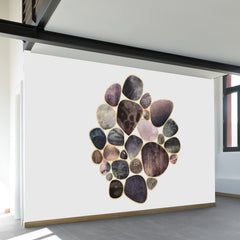 Rock Collection Wall Mural