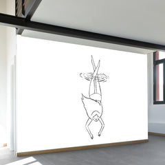 Day Swimmer Wall Mural
