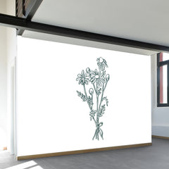 Chamomile Bundle Wall Mural
