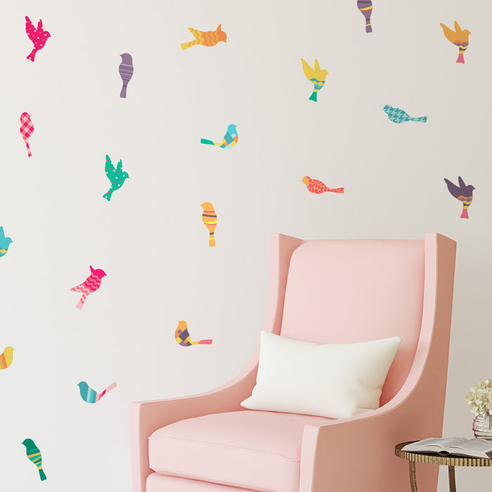 Pattern Birds Mini-Pack Wall Decals