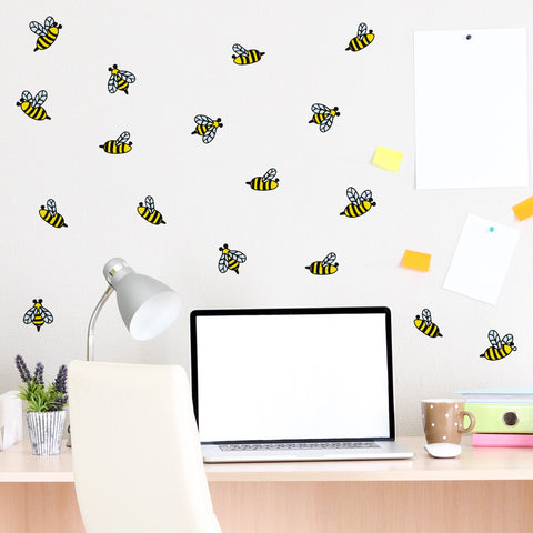 Honey Bees Mini-Pack Wall Decals