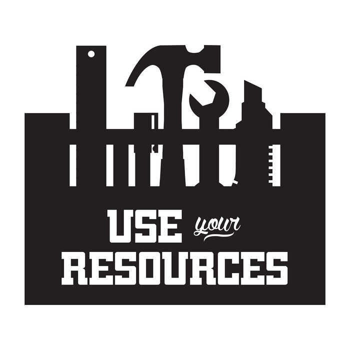 Use Your Resources - Office Quote Wall Decals