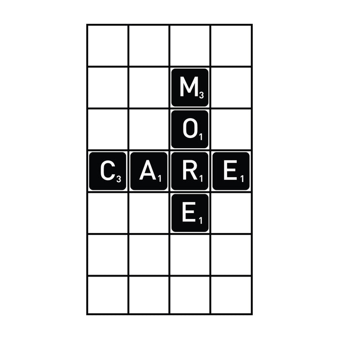 Care More - Office Quote Wall Decals