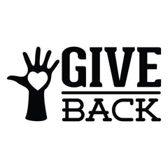 Give Back - Office Quote Wall Decals
