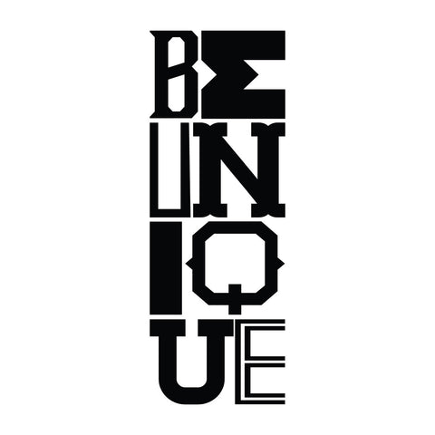 Be Unique - Office Quote Wall Decals