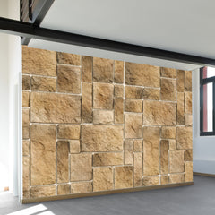 Stone Pattern Wall Mural