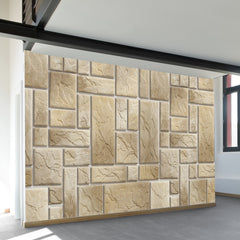Lite Stone Pattern Wall Mural