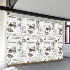 Americano Coffee Wall Mural