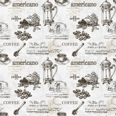 Americano Coffee Removable Wallpaper