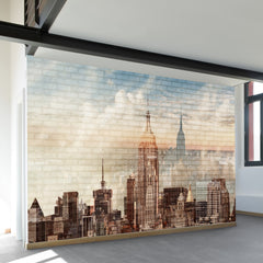 City Wall Mural