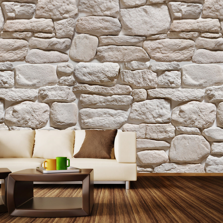 3D Stone III Wall Mural by Walls Need Loveᄄ
