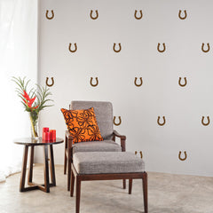 Horseshoes Mini-Pack Wall Decals | lifestyle