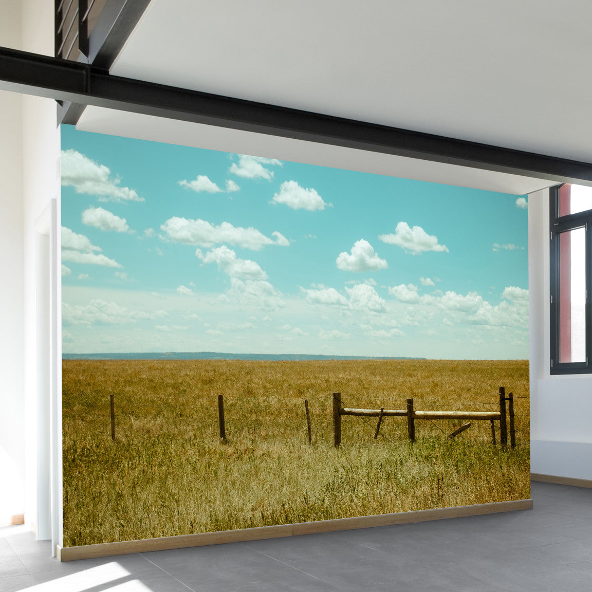 Wyoming Wall Mural by Walls Need Loveᄄ