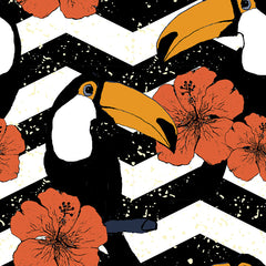 Toucans Removable Wallpaper