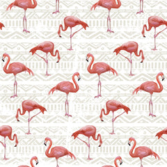 Flamingo Bird Background Removable Wallpaper