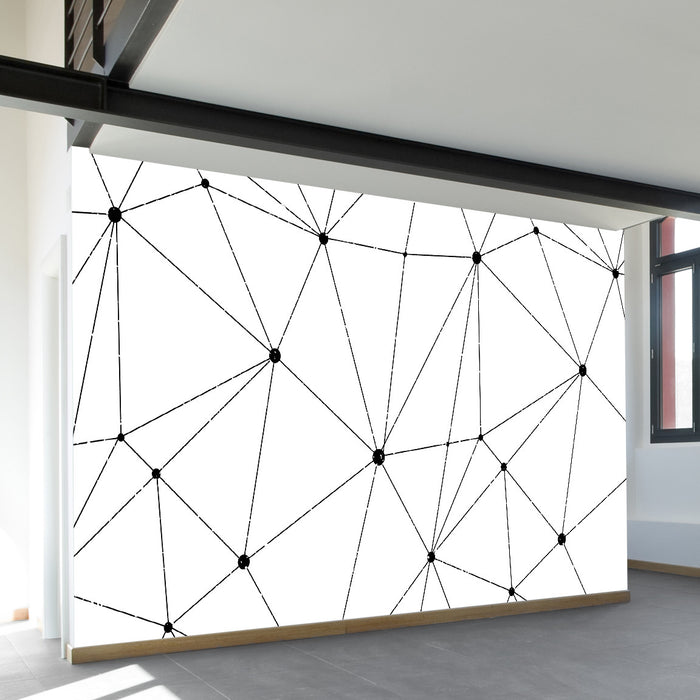 Technology Vector Wall Mural by Walls Need Loveᄄ