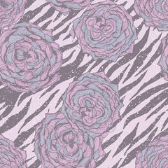 Floral Hipster Removable Wallpaper