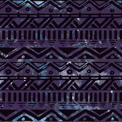 Hand Drawn Black Aztec Removable Wallpaper