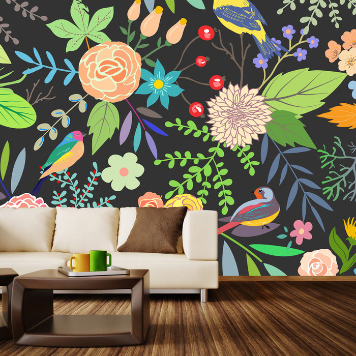 Golden Beat Wall Mural