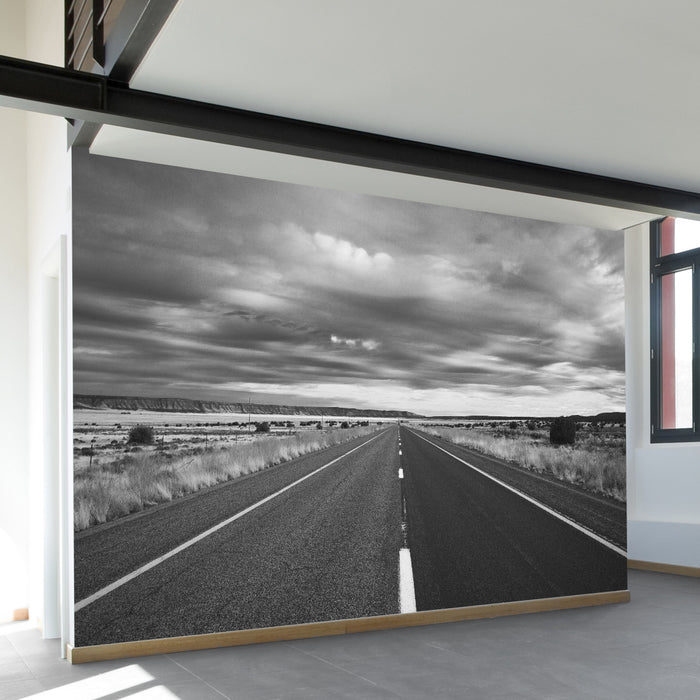 Open Roads Wall Mural by Walls Need Loveᄄ