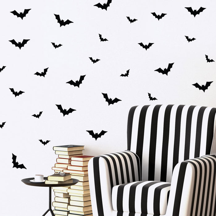 Flying Bats Mini-Pack Wall Decals | lifestyle