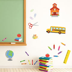 Mount wall decal - School House Rockin' on wall!!