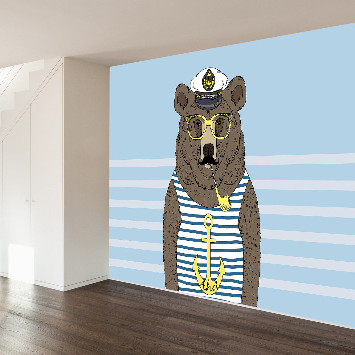 Sailor Barry Wall Mural image