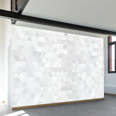 Paper Triangles Wall Mural