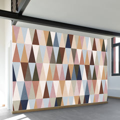 Earth Triangles Wall Mural